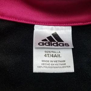 adidas Matching Sets - Adidas Black & Pink Track Suit